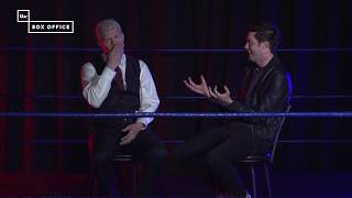 Jack Whitehall interviews Cody Rhodes for ITV Wrestling