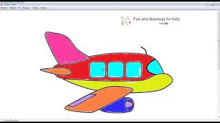 How To Draw A Plane Flying