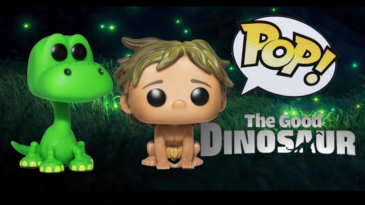 Funko Pop Disney Good Dinosaur Spot Action