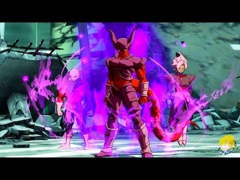 Dragon Ball FighterZ - Janemba DLC Showcase Gameplay  (English / Japanese Dub) HD