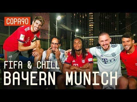Renato Sanches, Javi Martinez & Juan Bernat! FIFA and Chill with Bayern Munich ft. Poet and Vuj