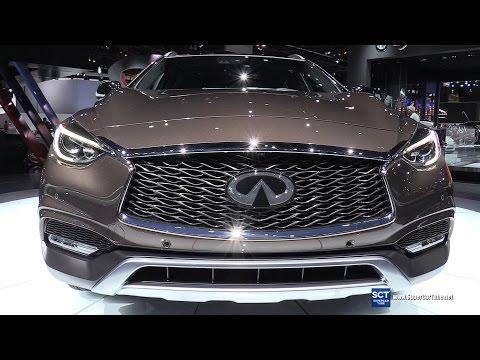 2017 Infiniti QX30 - Exterior and Interior Walkaround - World Debut at 2015 LA Auto Show