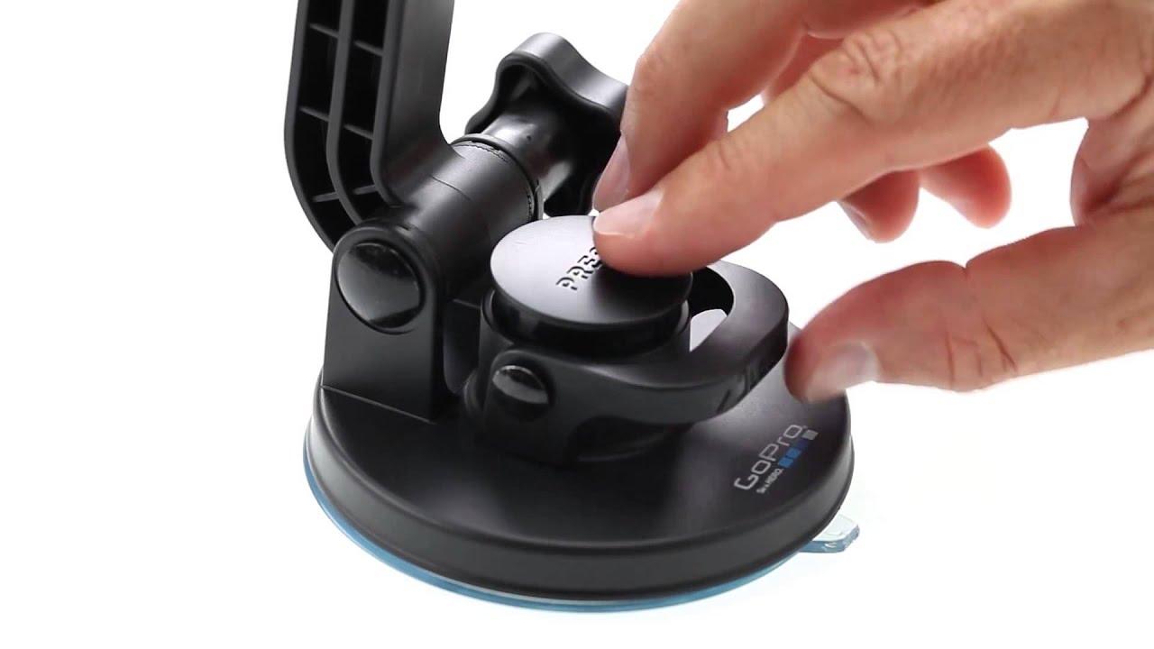 Utilización del Soporte de Ventosa de GoPro para cámaras ...