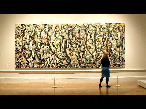 Jackson Pollock in 60 seconds