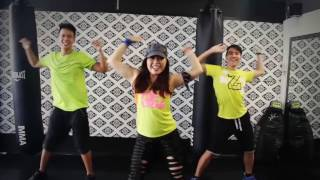 ZUMBA DANCE workout for beginners step by step ★ Papi - Jennifer Lopez ★ burns 500 calories
