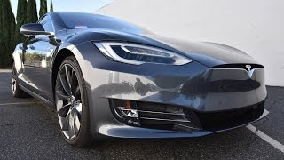 FUTURISTIC METALLIC GREY 2016 Tesla Model CLEAR BRA PAINT PROTECTION FILM BENJAMIN ROMAN