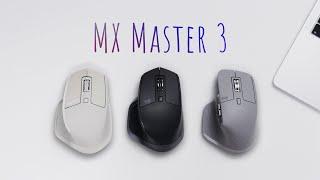 Обзор MX Master 3 — самая правильная мышь!