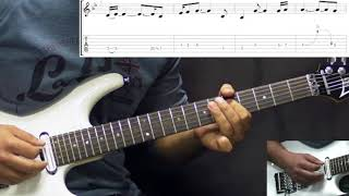 Gary Moore - The Loner - Rock Ballad - (PART 1) Guitar Lesson (w/Tabs)
