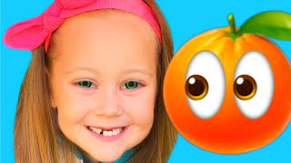 Yes Yes Fruits Song | Educational Nursery Rhymes & Kids Songs with  Eva Surprise