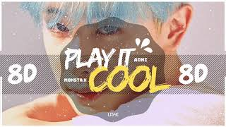 [8D AUDIO] MONSTA X & STEVE AOKI - PLAY IT COOL [USE HEADPHONES ] BASS BOOSTED