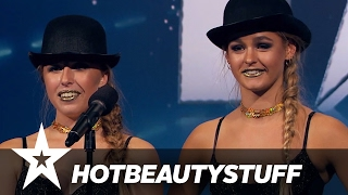 YouTuberne Hotbeautystuff | Danmark Har Talent 2017 | Audition 4