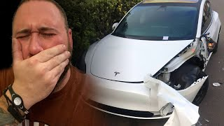 I RUINED MY NEW TESLA MODEL 3