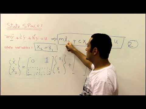 State Space Representation ( Dynamic Systems ) | Mechanical Engineering