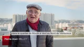 Inauguration de la résidence Ludovic Bonin, au Moulin à Vent, à Vénissieux