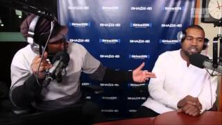 KANYE WEST Flips Out on Sway in The Morning Interview HD