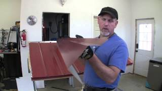 How To Build A Pole Barn Pt 7 - Metal Roofing --continued--