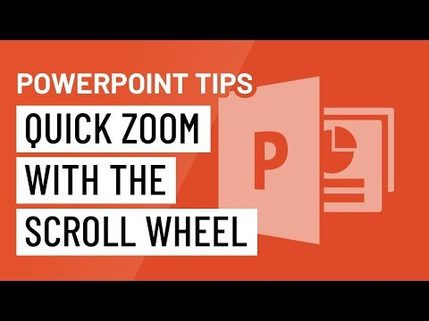 PowerPoint Quick Tip: Quick Zoom with the Scroll Wheel - YouTube