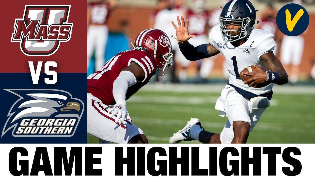 UMass vs Georgia Southern Highlights   Week 7 2020 College Football Highlights