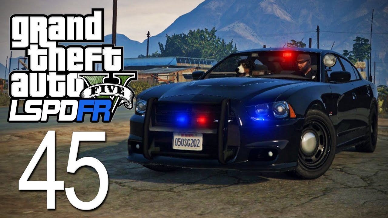 GTA 5 - LSPDFR - Episode 45 - Unmarked Charger! - YouTube