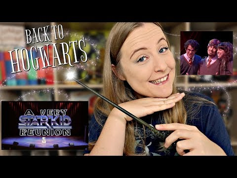 REACTING TO A VERY POTTER MUSICAL  GET BACK TO HOGWARTS A VERY STARKID REUNION
