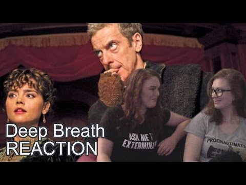DOCTOR WHO  DEEP BREATH  *DRUNK* REACTION VIDEO