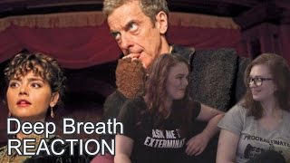 DOCTOR WHO - DEEP BREATH - *DRUNK* REACTION VIDEO