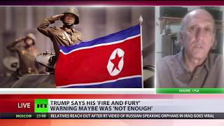 'Fire and fury' wasn't tough enough   Trump on North Korea