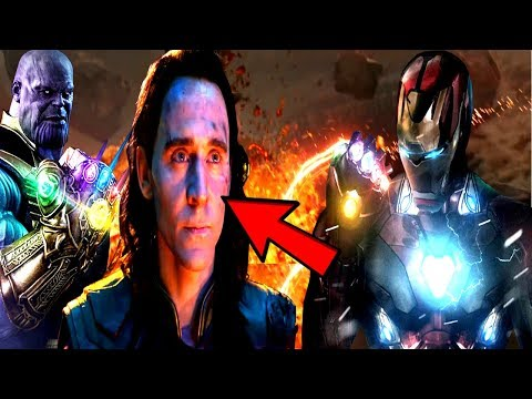 Loki & Ironman To Make The Stark Infinity Gauntlet REVEALED? - Loki Will Stop Thanos In Avengers 4