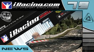 iracing mobile exclusive content bmw m3 gt2 nrburgring news