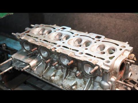 Сборка нового мотора в Ладу Приору после краша. Портинг гбц. Часть 1