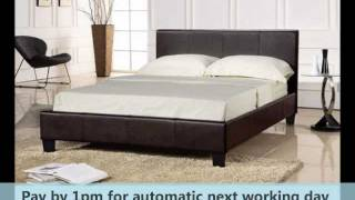 Prado 5ft Kingsize Bed Frame Faux Leather