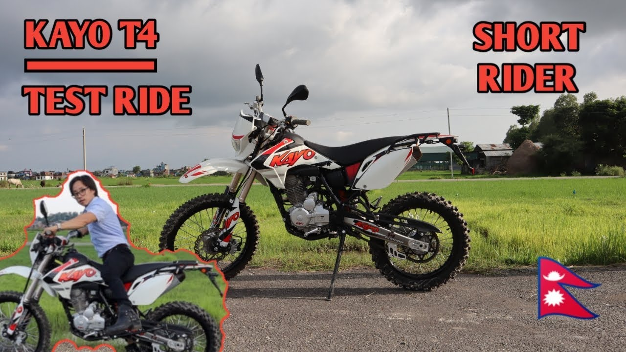 The Most Affordable Dirt Bike Of Nepal Kayo T4 Test Ride Review