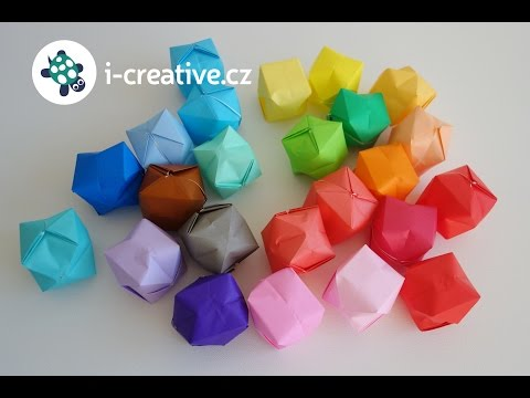 Origami Blaetter , How To Make Paper Toy Origami Papirna Igračka žabica