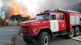 В Тульской области сгорела типография «Шар»(, 2015-08-13T16:56:26.000Z)