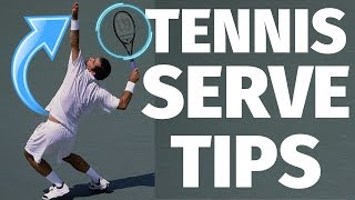Tennis Serve - 3 Tips To Instantly Improve Your Serve