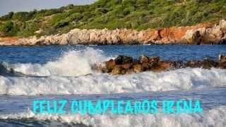 IrenaRussian pronunciation   Beaches Playas - Happy Birthday