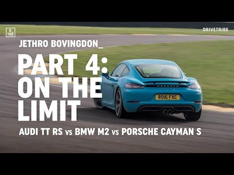 Audi TT RS vs BMW M2 vs Porsche 718 Cayman S: on the limit