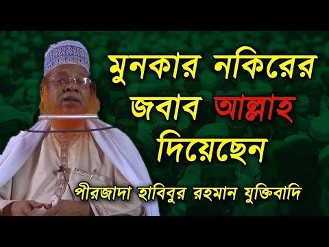 মুনকার নকিরের জবাব আল্লাহ দিয়েছেন | পীরজাদা হাবিবুর রহমান যুক্তিবাদি | ইসলামিক ফাউন্ডেশন বাংলাদেশ |