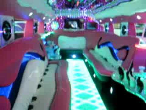 2008 Pink H2 Hummer Limousine Youtube
