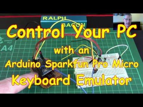 30 cap1188 touch sensor arduino leonard sparkfun pro micro usb keyboard emulator youtube. Black Bedroom Furniture Sets. Home Design Ideas