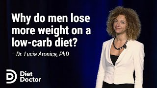 [Preview] Why do men lose more weight on a low-carb diet? With Dr. Lucia Aronica, PhD