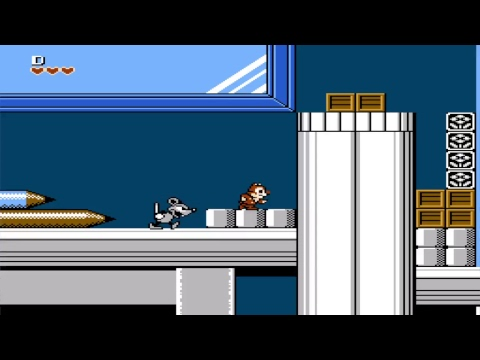 The Disney Afternoon Collection Gameplay : Rescue Rangers |