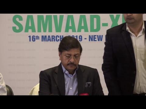NBCC presents to you SAMVAAD-XIV. CMD Dr. A K Mittal addressing the gathering
