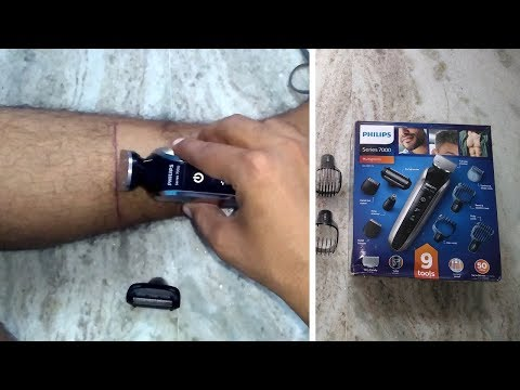 Philips QG3387/15 | Multigroom series 7000 Head to toe trimmer | Unboxing & Review | India