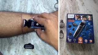 Philips QG3387/15 | Multigroom series 7000 Head to toe trimmer | Unboxing & Review | India thumbnail