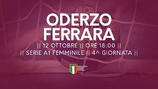 Serie A1F [4^]: Oderzo - Ferrara 21-19
