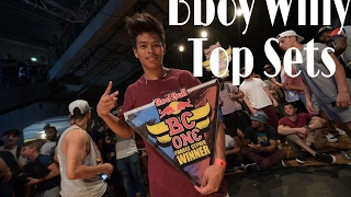 Bboy Willy |Top set | Tekken crew | Red Bull flying illusion|