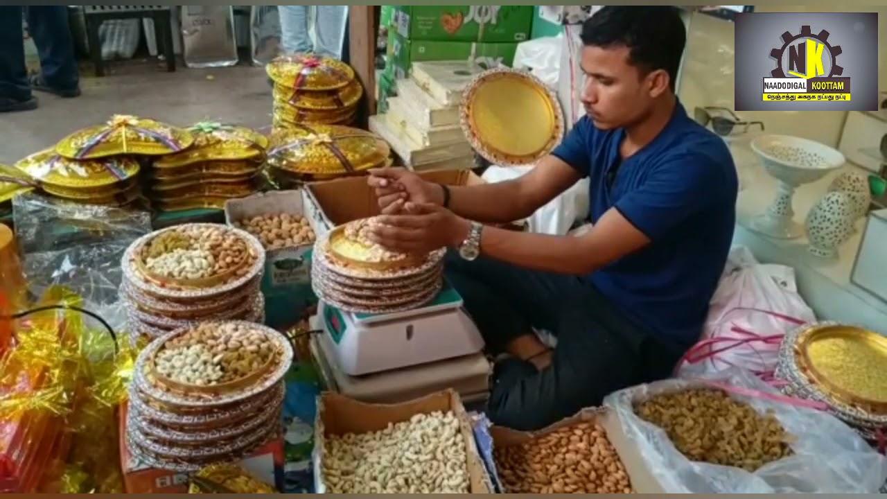 Способ изготовления подарочной коробки сухих фруктов в Дели