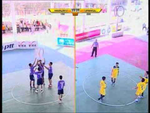 ตะกร้อลอดห่วงนครพนม VS เพชรบูรณ์  เยาวชนแห่งชาติ ครั้งที่ 29