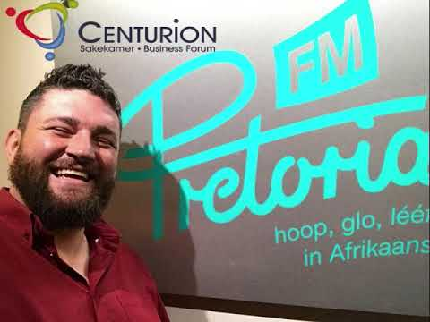 Cobus Visser on Pretoria FM for Centurion Business Forum 2018